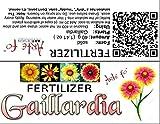 dgdfg Gaillardia fertilizante Gaillardia, Kokardenblume, Malerblume, Flor de manta, Guentheria, Polypteris, Calonnea suficiente para 20 litros