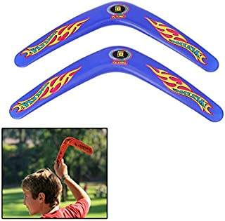 Toys&Hobbies Classic V Style Flying Boomerang Outdoor Interesting Flying Toy (Yellow) (Color : Blue)