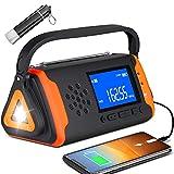Best Emergency Radios - Emergency Weather Crank Radio 4000mAh - Portable, Solar Review