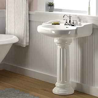 Dawson 200 Vitreous China Pedestal Sink