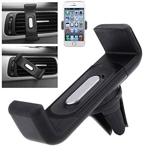 CQLEK® Superb [Rubberized] Superb Air Vent Car Mount Holder for All Mobile Phones [4 Inch to 6 Inch]