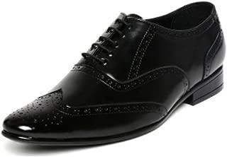 San Frissco Men's Black Formal Shoes-9 UK/India (43 EU) (EC 3501_BLK-9)