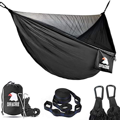 Covacure Camping Hammock - Lightweight Double Hammock, Hold Up to 772lbs, Portable Hammocks for...
