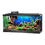 GZQ Adhesivo decorativo para fondo de acuario, mundo submarino en 3D, adhesivo decorativo de PVC para decoración de papel pintado