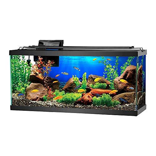 GZQ Aquarium-Hintergrund, 3D Unterwasserwelt Aquarium Hintergrund Aufkleber Tapete Dekoration PVC Adhesive Decor Papier Cling Decals Poster