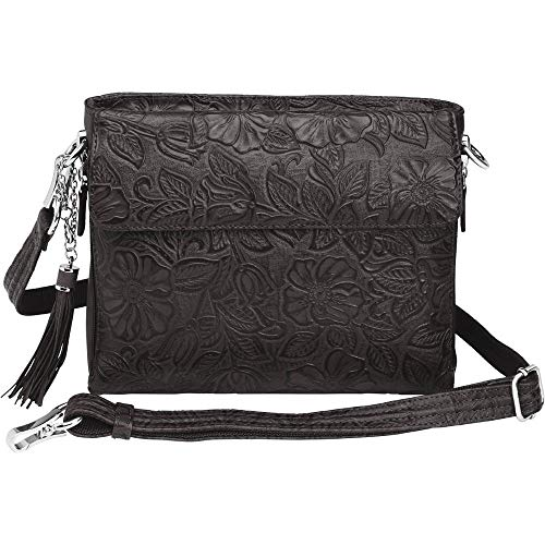 Concealed Carry Purse - Leather Tooled American Cowhide...