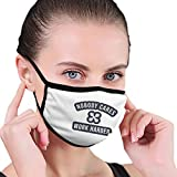 Nobody Cares Work Harder Unisex Dust-Proof Face Mask Cover Balaclava Mouth Cover Washable Reusable Black