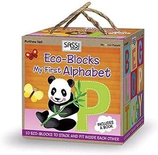Sassi Junior Eco-Blocks My First Alphabet