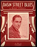 "sheet music cover: ""Basin Street Blues"" by Spencer Williams"