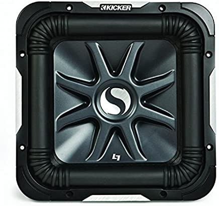 Kicker S12L7 Car Audio Solobaric L7 Square 12