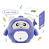WOOBO Plush Interactive Toy for Curious Kids - Stuffed Talking Animals Toys with Songs, Stories, Voice Interaction, Glowing Ears, App Controled, Best Gift for Boys Girls
