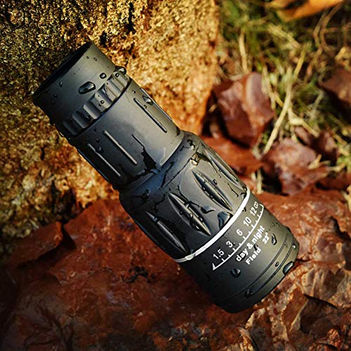 KAR Télescope 16X52 Double Mise au Point monoculaire Hunting Spotting Mise à Niveau Handheld pour Le Tourisme Sightseeing Concerts Pêche Voile