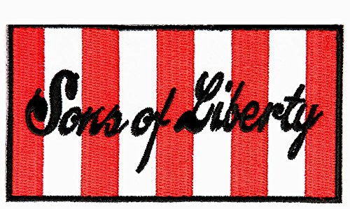 Sons of Liberty Flag Patch (iron on)