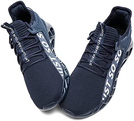 Yytlch Mens Running Shoes Fashion Sneakers Athletic Gym Casual Breathable Walking Tennis Cross Training Sport Blade Shoes