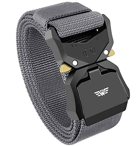 Tactical Belt,Duty Belt, Web Belt, 1.5 Inch Military Style Riggers...