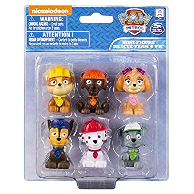Spin Master Paw Patrol Mini Figure Set 6 Piece from Spin Master