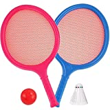 Liberty Imports Badminton Set for Kids with 2 Rackets, Ball and Birdie - Junior Tennis Racquet Play Game Beach Toys