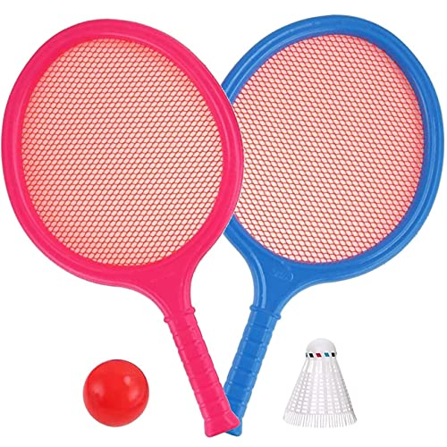 liberty imports kids games Liberty Imports Badminton Set for Kids with 2 Rackets, Ball and Birdie - Junior Tennis Racquet Play Game Beach Toys