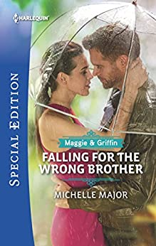 Falling for the Wrong Brother (Maggie & Griffin Book 1) by [Michelle Major]