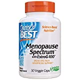 Doctor's Best Menopause Spectrum with EstroG-100, Non-GMO, Vegan, Gluten Free, Soy Free, Veggie Caps, 30 Count