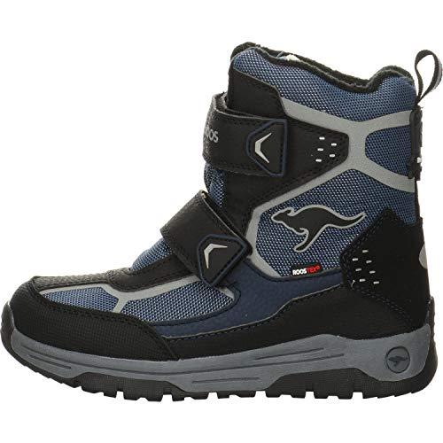 KangaROOS K-Trooper V RTX Unisex-Kinder Stiefel, Blau (Dark Navy/Vapor Grey 4075), 35 EU