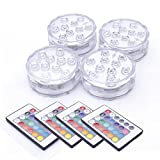 Luz sumergible, Tiray Ledy Cambio de Color RGB Multi agua densidad LED Leuchten...
