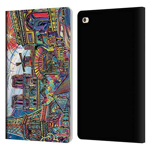 Head Case Designs sous Licence Officielle P.D. Moreno Paris 1 Villes Coque en Cuir à Portefeuille Compatible avec Apple iPad Mini 4
