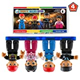 PICK YOUR PROFESSION – Children love dreaming about their future careers, and these magnetic figures make exploring their future fun and educational! Each set includes a firefighter, nurse, policeman, and builder – all equipped with magnetic feet to ...