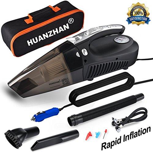 HUANZHAN Car Vacuum Cleaner, H-Zonealph Portable Handheld High Power...