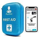PocDoc Outdoor - Conjunto de Primeros Auxilios Inteligente con aplicación Gratuita (iOS y...