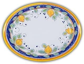 Italian Inspired Melamine Picnic Alcantara Oval Platter