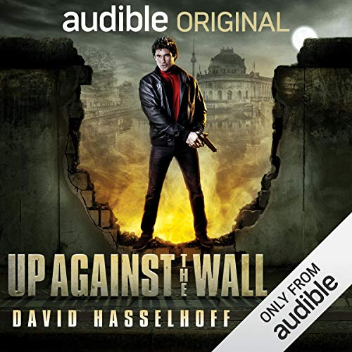 Up Against the Wall audiobook cover art