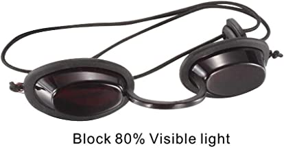 Sweet-Dream Goggles,200-2000nm Typical Wavelength Laser eye Protection Glasses - Tanning Goggles/Eyewear/Eyepatch/Eye Shields for Patients in IPL/UV/Infrared LED light Therapy