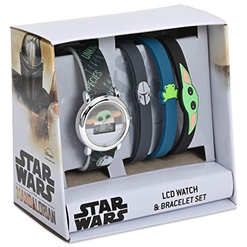Star Wars - Juego de reloj y pulsera LCD