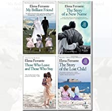 Neapolitan Novels Series Elena Ferrante Collection 4 Books Bundle (My Brilliant Friend, The Story of a New Name, Those Who...