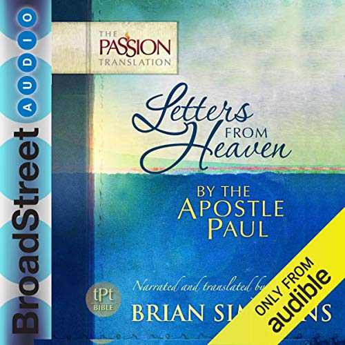 Couverture de Letters from Heaven by the Apostle Paul