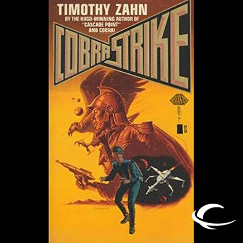 Cobra Strike audiobook cover art