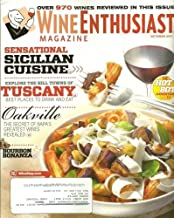 Wine Enthusiast Magazine October 2011 Sensational Sicilian Cuisine
