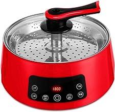 JSMY Pot Chaud électrique à Levage Automatique Haute Puissance,Wok électrique Intelligent Multifonctionnel Domestique,Conc...