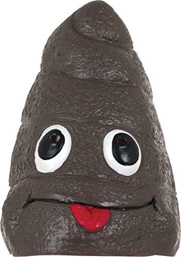 Bristol Novelty Halloween Fancy Party Accessory Poo Mask Latex