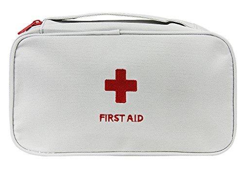 BXT Tasche für Notfall-Pillendose, Erste-Hilfe-Organizer, Pillen-Organizer, Aufbewahrungsfach, Medizin, Schutztasche für Reisen, Auto, Haus, Camping, Salz