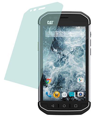 4ProTec I 4X Crystal Clear klar 3D Touch Schutzfolie für Caterpillar Cat S40 Premium Bildschirmschutzfolie Displayschutzfolie Bildschirm Schutz Glas Schutzhülle Bildschirmschutz Bildschirmfolie Folie