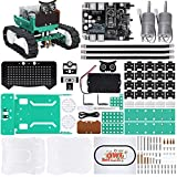 ELEGOO Owl Smart Robotic Car Kit V2.0 with Nano V4, Line Tracking Module,Infrared Photoelectric Sensor、Ultrasonic Sensor etc. Intelligent and Educational Toy Car Robotic Kit for Arduino Learner