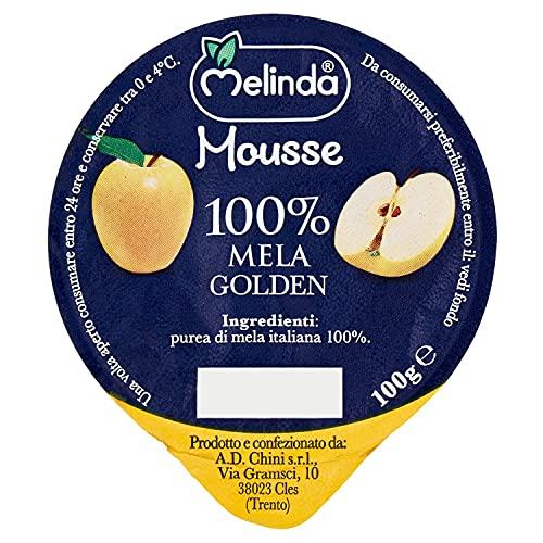 Melinda Mousse di Mele, 18 x 100 gr
