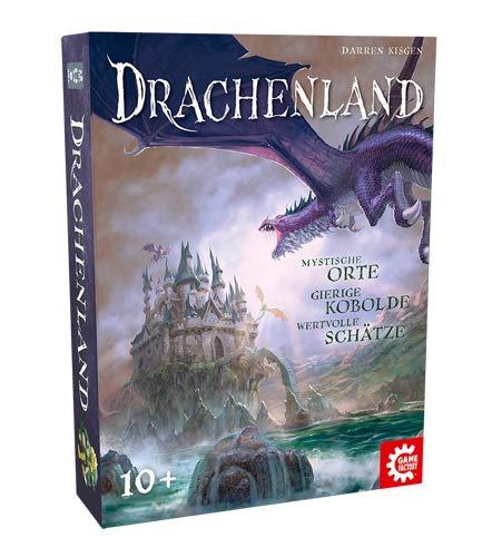 Game Factory 646246 Drachenland, Familienspiel, Gesellschaftsspiel, ab 10 Jahren