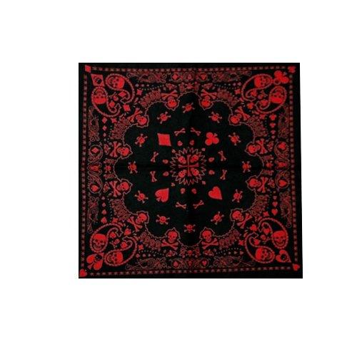 Bargain Online - Echarpe - Homme Noir black and red colour
