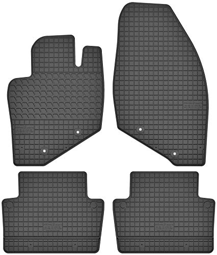 Motohobby Gummimatten Gummi Fußmatten Satz für Volvo S60 I (2000-2009) / S80 I (1998-2006) / V70 II (2000-2007) - Passgenau