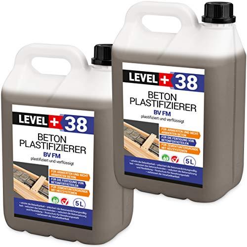 10 L Beton Plastifizierer Fließmittel Betonverflüssiger Zusatzmittel Estrich Zusatzmittel Betonfließmittel RM38
