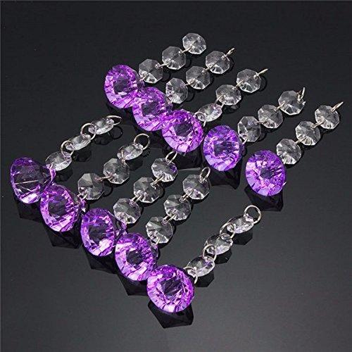 Bazaar 10 stuks acrylkralen kristallen kroonluchter slinger huwelijk hangend feestdecoratie