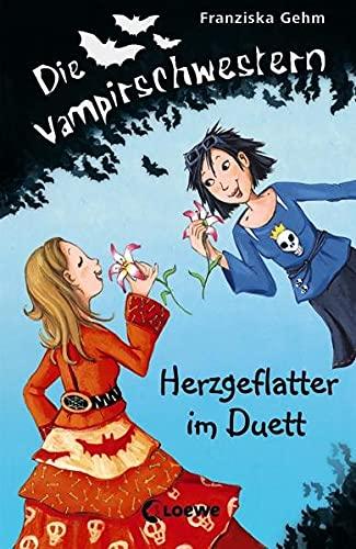Die Vampirschwestern - Herzgeflatter im Duett: Lustiges Fantasybuch für Vampirfans